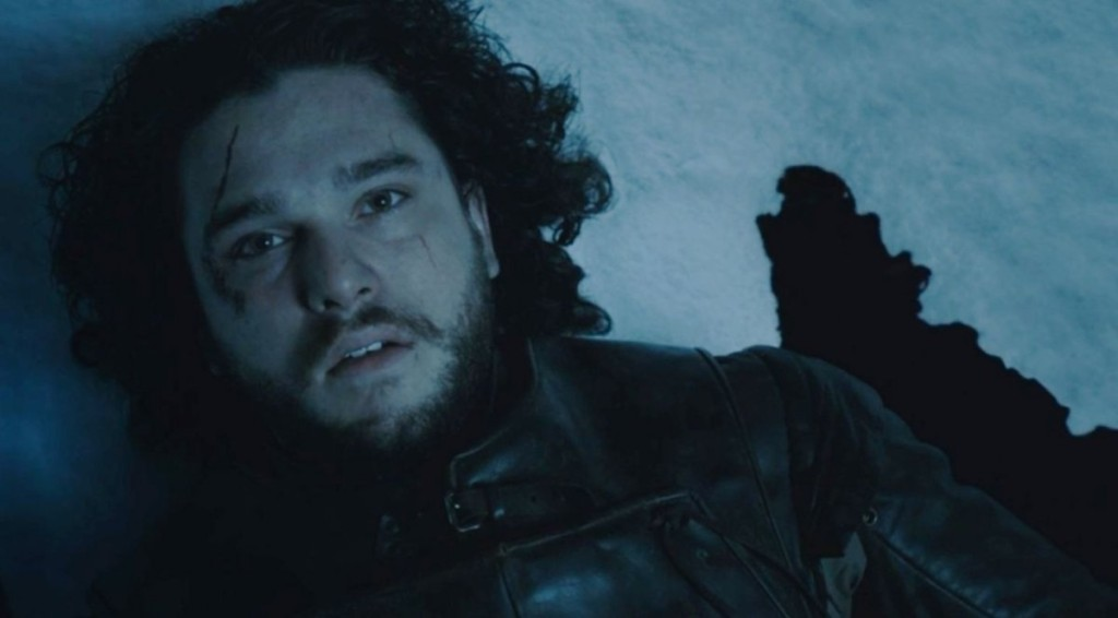 Jon Snow death scene game of thrones