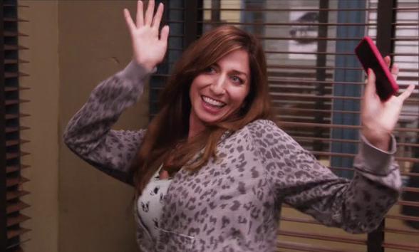 Gina in Brooklyn Nine-Nine