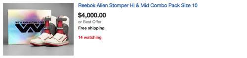 Alien Stomper ebay listing