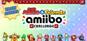 Mini Mario and Friends Amiibo Challenge Early Access: Cute and Fun!