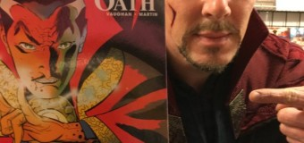 Lucky Comic Shop Gets Benedict Cumberbatch Dressed as Doctor Strange