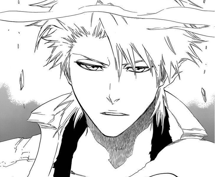 Toshiro Hitsugaya Bleach chapter 671