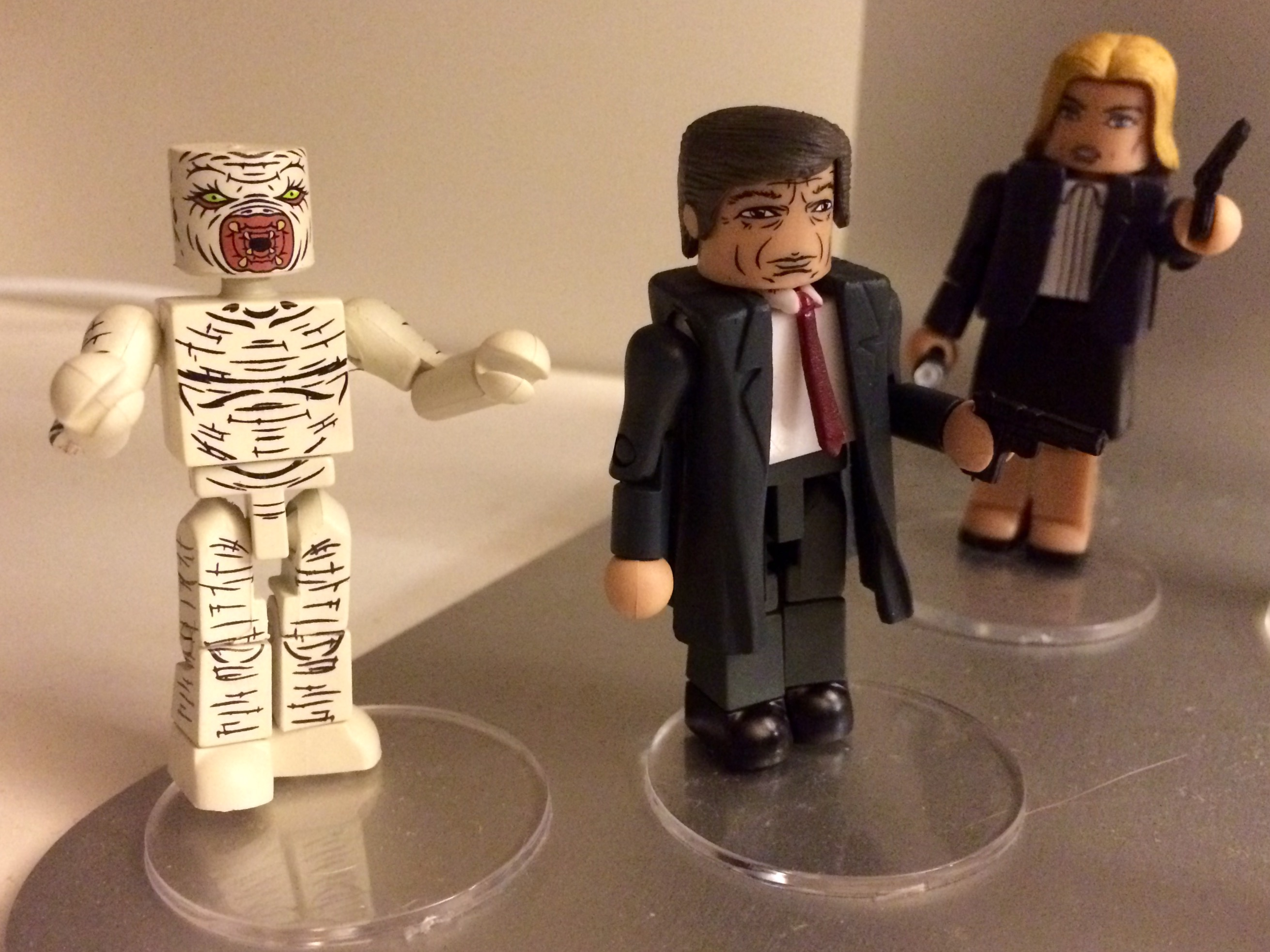 X-Files Classic Series Minimates