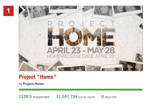 project home thunderclap