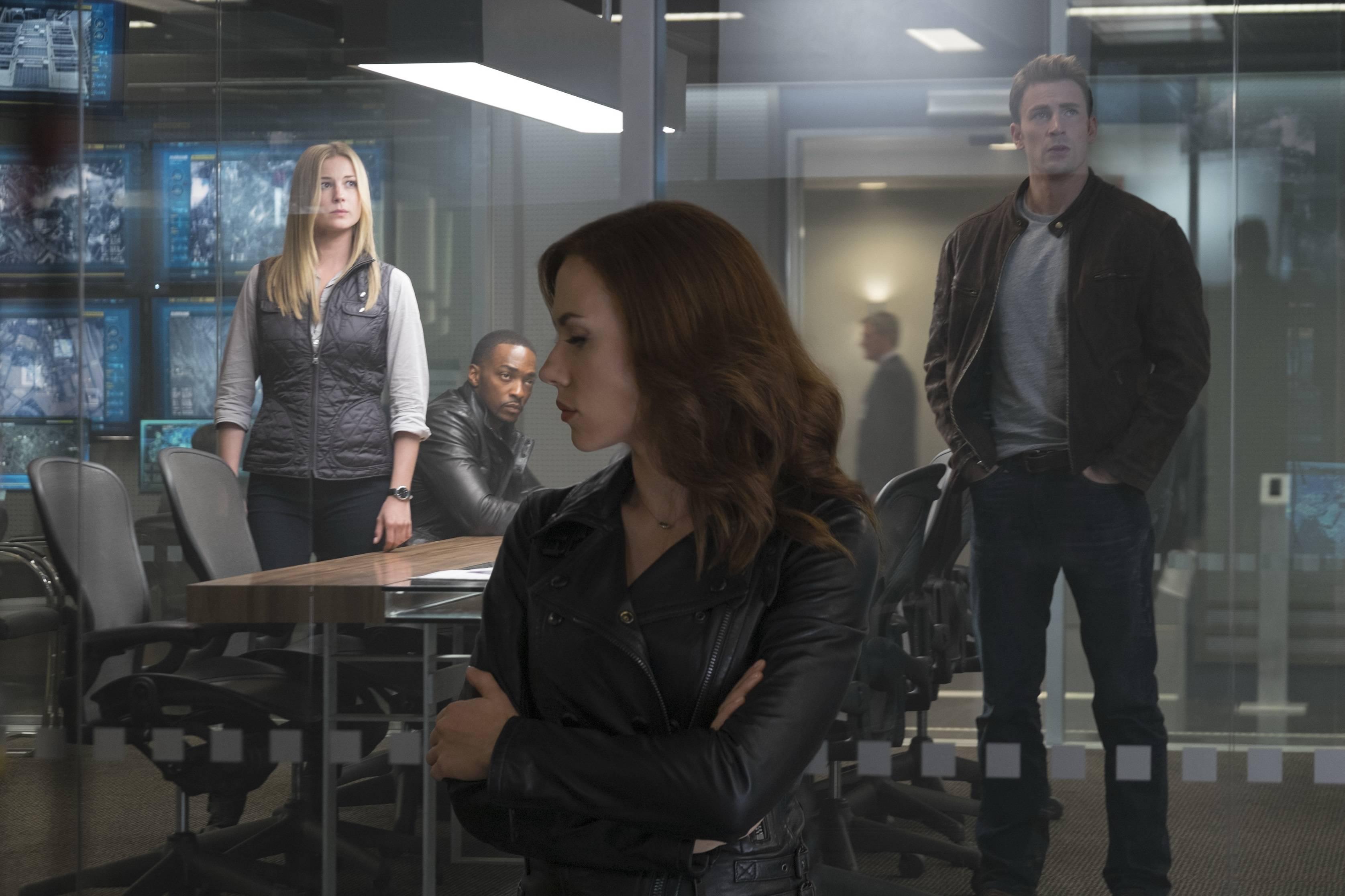 Captain America: Civil War women