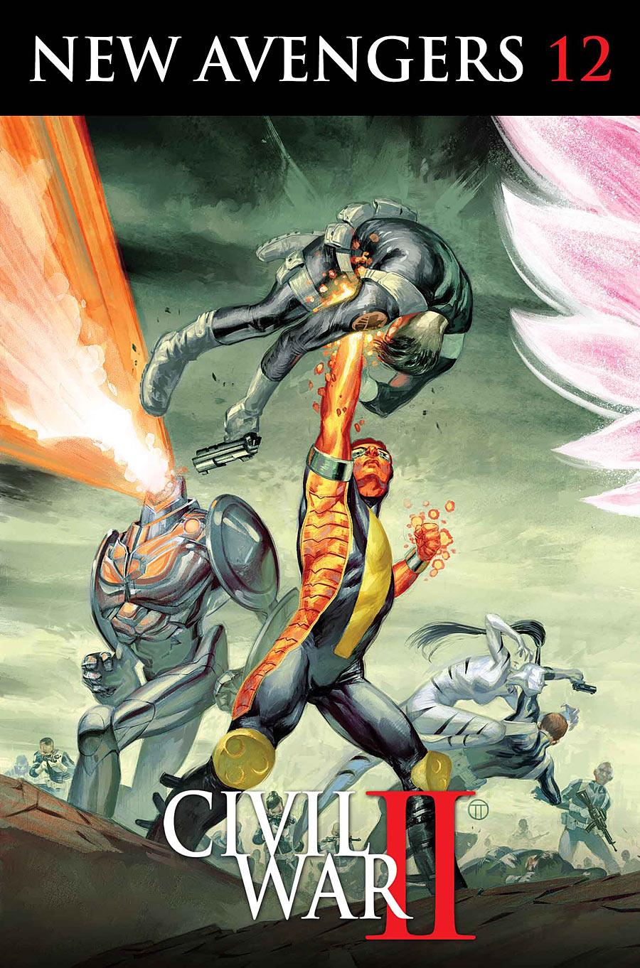 New Avengers 12 Cover Civil War II
