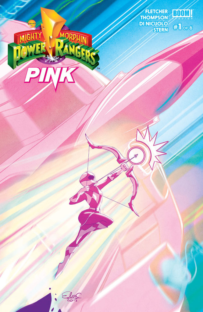 Power Ranger Pink Solo title