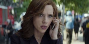 Scarlett Johansson Captain America: Civil War women Black Widow Scarlett Johansson
