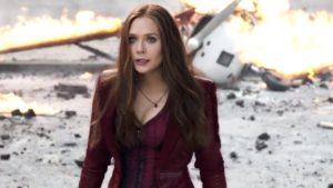 Captain America Civil War women Wanda Maximoff