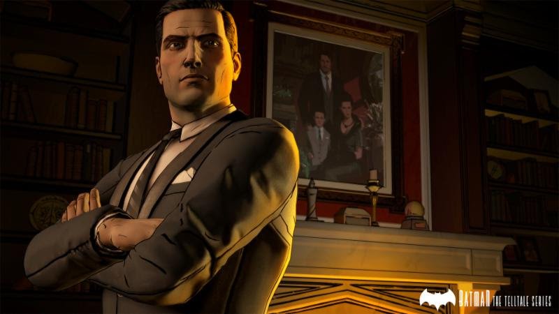 Batman the Telltale Series Bruce Wayne