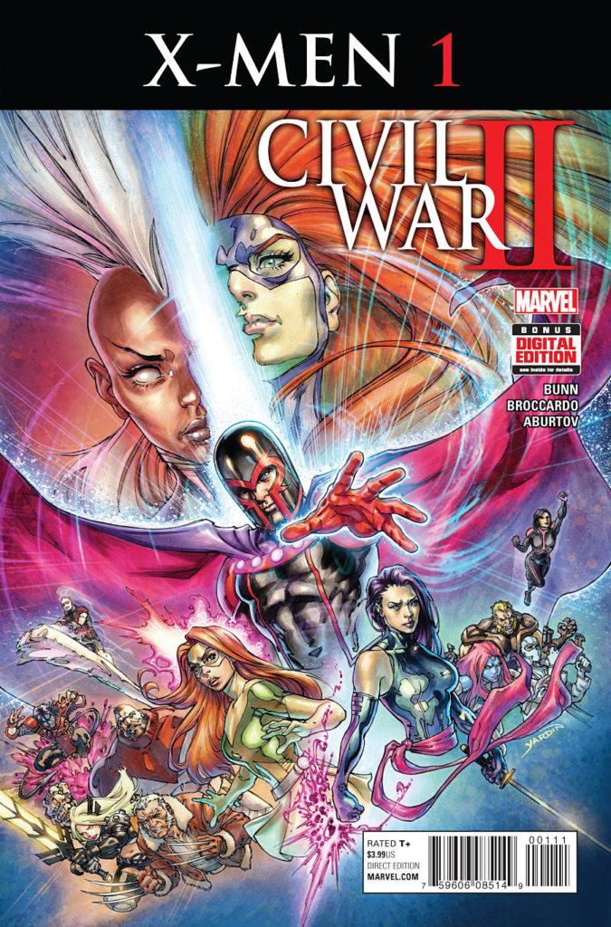 Civil War II X-Men Issue 1 Marvel