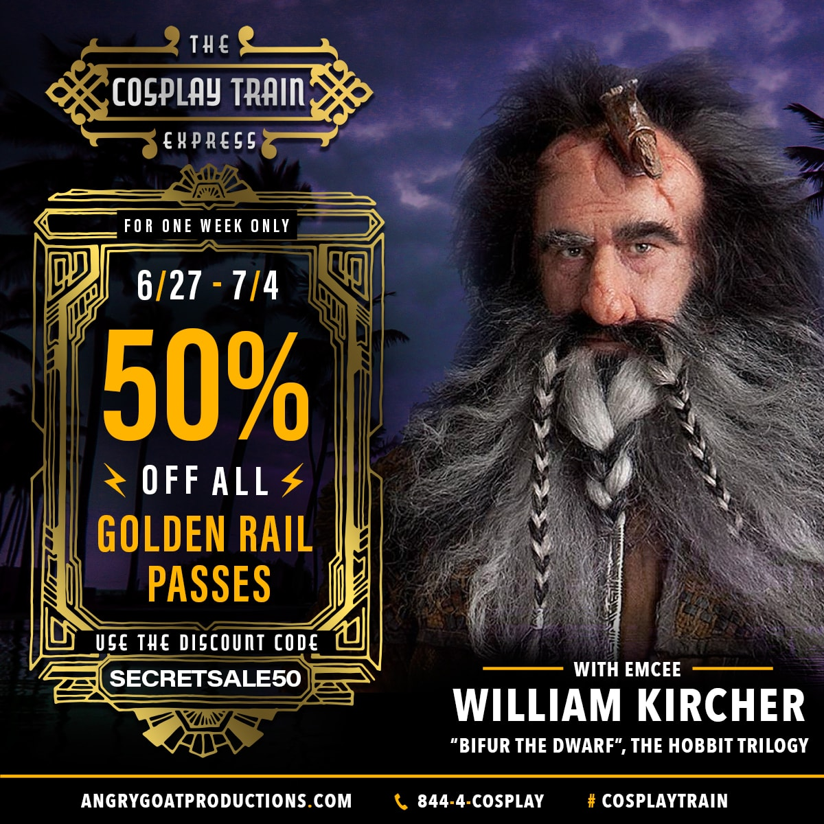 Cosplay Train Express - Secret Sale-1