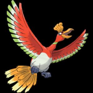Ho-Oh Image Pokemon Pride