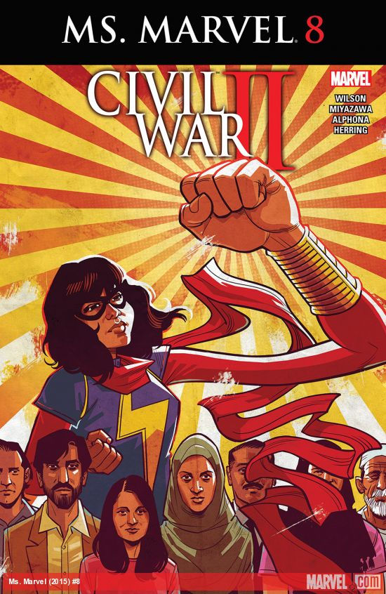Ms. Marvel Issue 8 Title