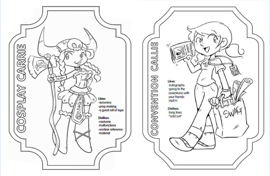The Fangirls Coloring Book