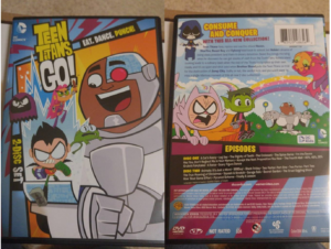 Teen Titans Go! DVD Pack Season 3
