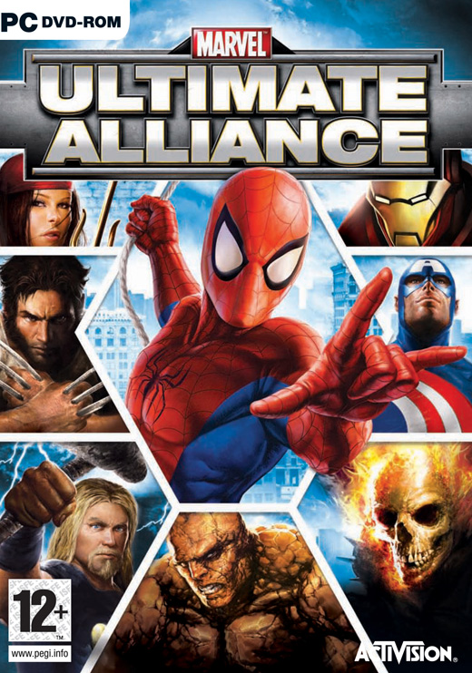 Marvel Ultimate Alliance Title