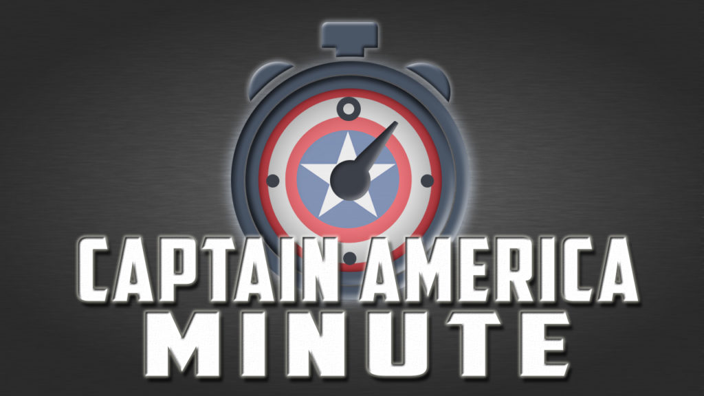 captain america minute cover