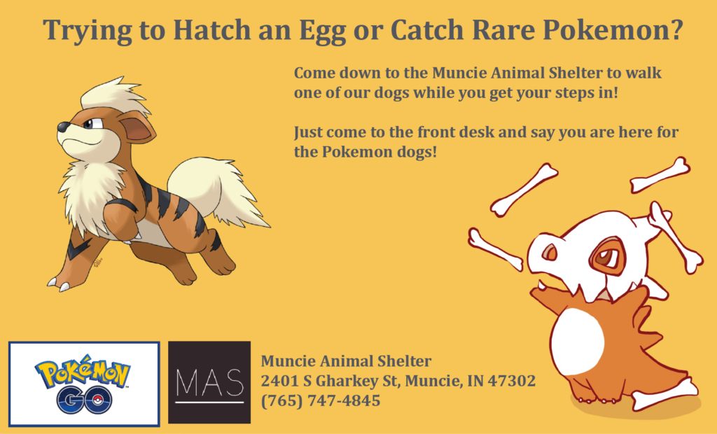 Pokemon GO Muncie Animal Shelter The Geekiary