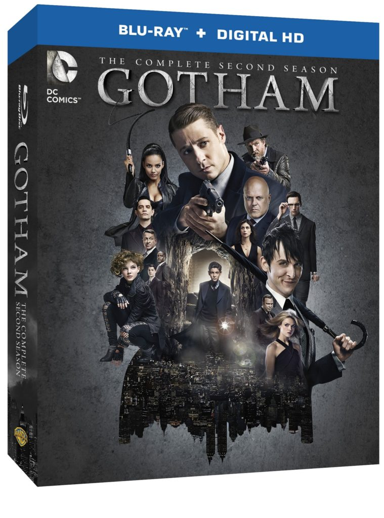Gotham Second Season DVD Blu-ray