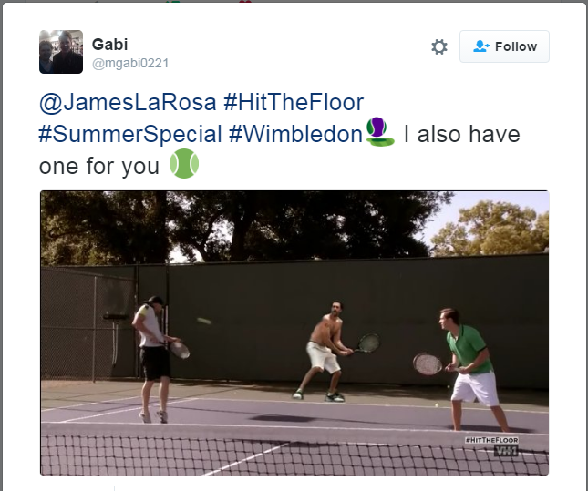 Hit the Floor James LaRosa Fan Competition