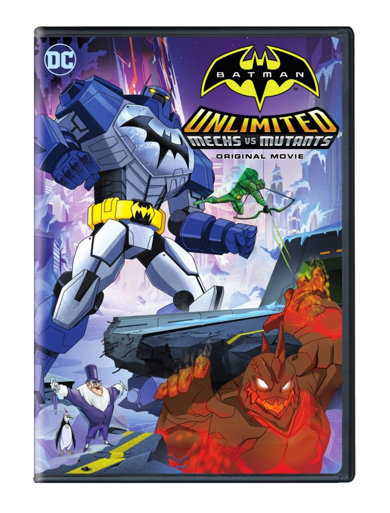 Mechs vs Mutants Batman Unlimited DVD Mechs vs. Mutants