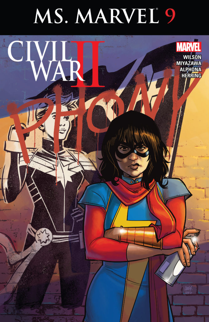 Ms. Marvel Kamala Khan Civil War II