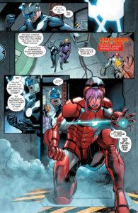 New Avengers Issue 14 Toni Ho