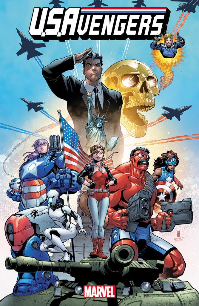 U.S.Avengers Cover