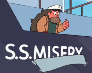 Alone at Sea Steven Universe SS Misery