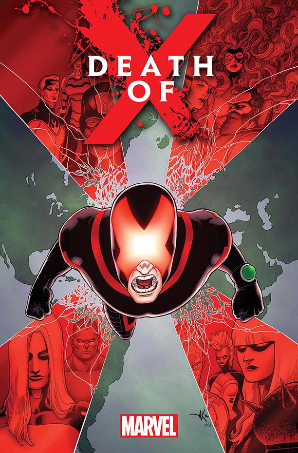 Death of X Cyclops Jeff Lemire Soule