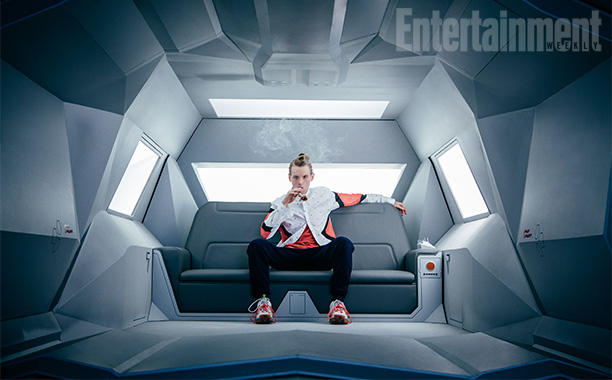 American Gods first picture of Technical Boy Entertainment Weekly