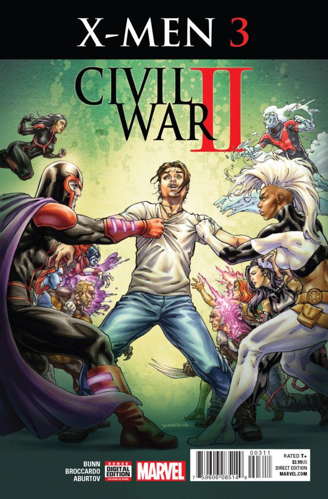 Civil War II X Men Issue 3