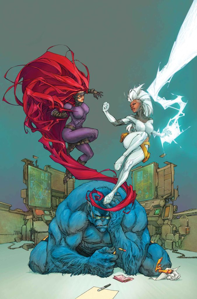 Inhumans vs X-Men Issue Storm Beast Medusa
