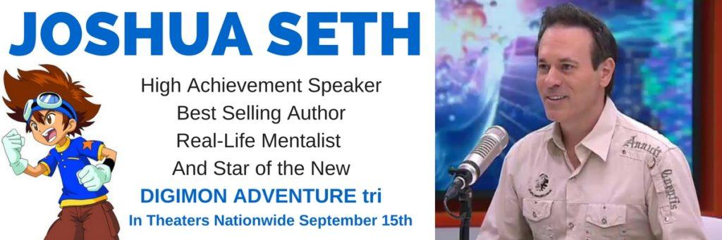 Joshua Seth Pic Digimon Adventure tri Tai