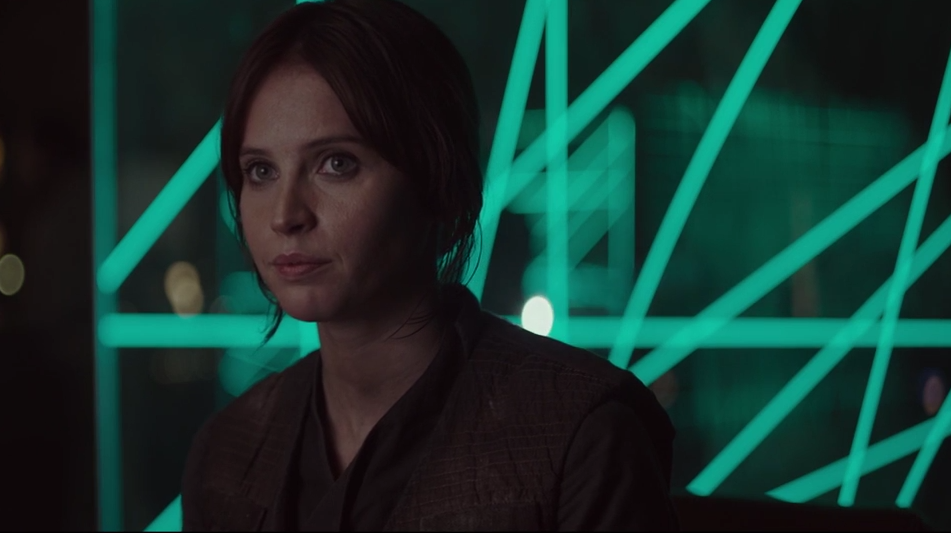 new Rogue One trailer Jyn Erso