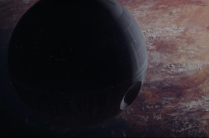new Rogue One trailer Death Star