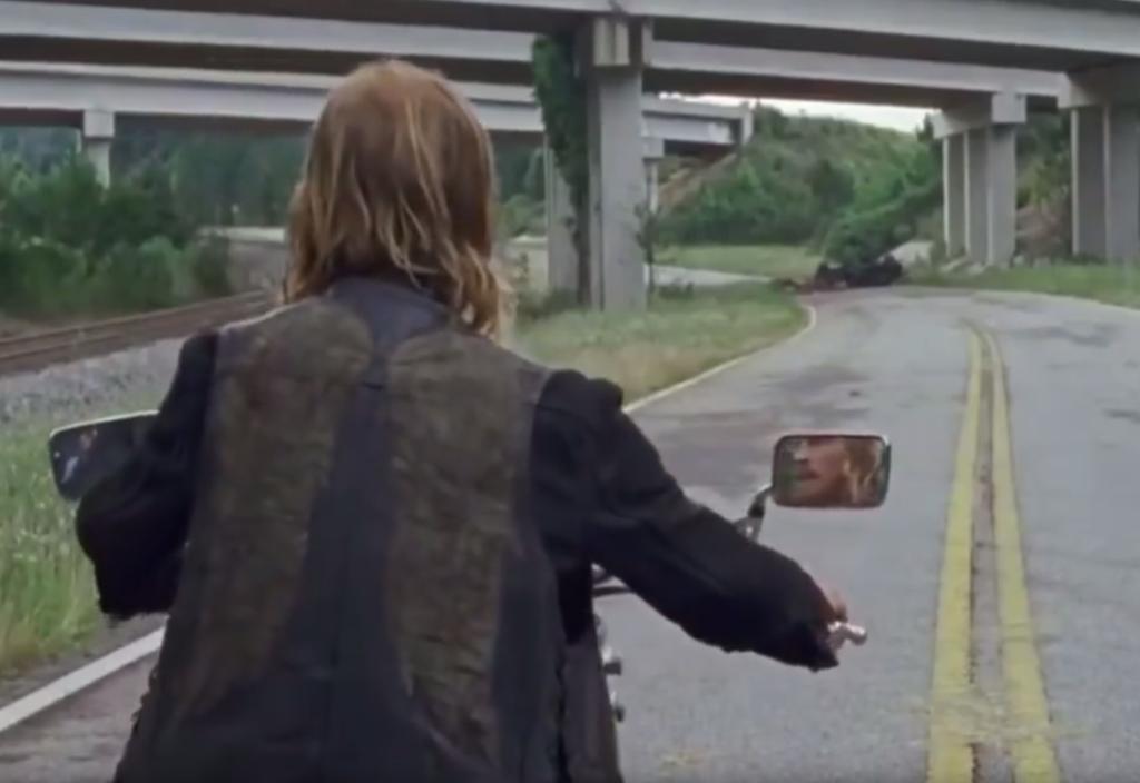 Walking Dead season 7 footage