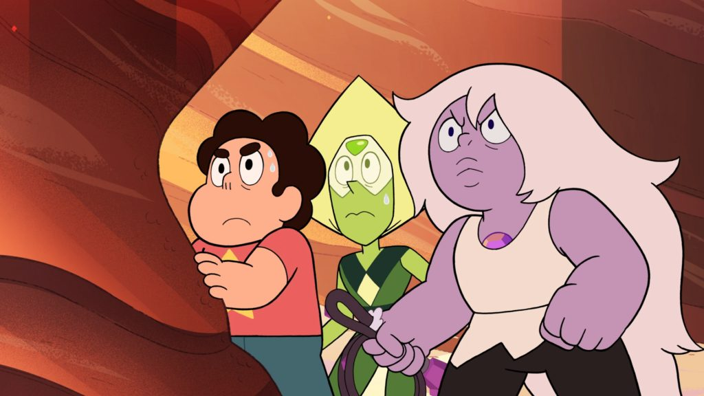 Beta and Earthlings Steven Universe