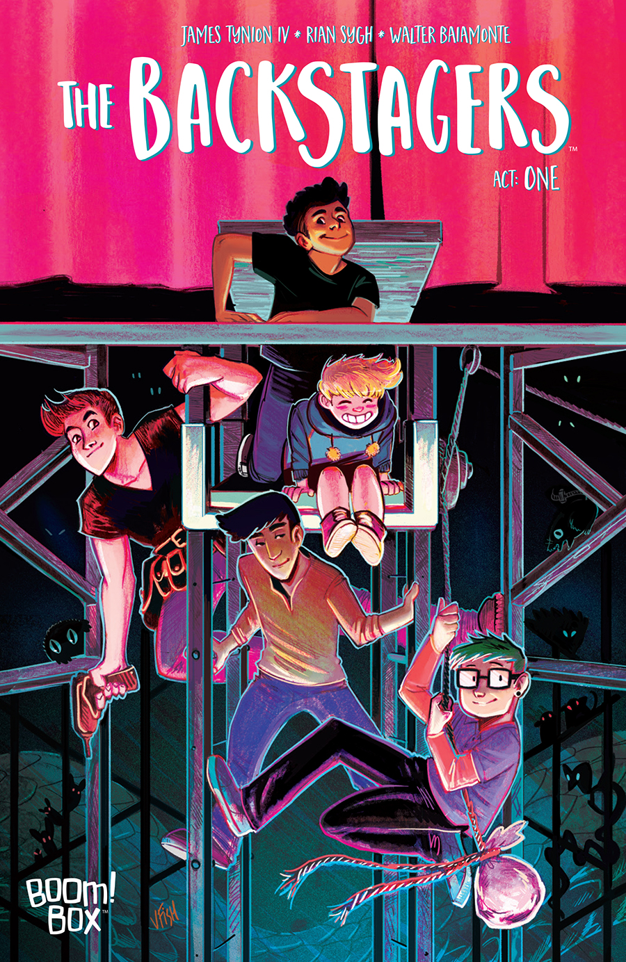 The Backstagers, Vol. 1: Rebels Without Applause by Walter Baiamonte, James Tynion IV, Rian Sygh