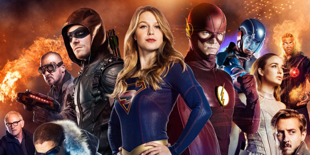 Medusa Supergirl DC Legends of Tomorrow The Flash Arrow