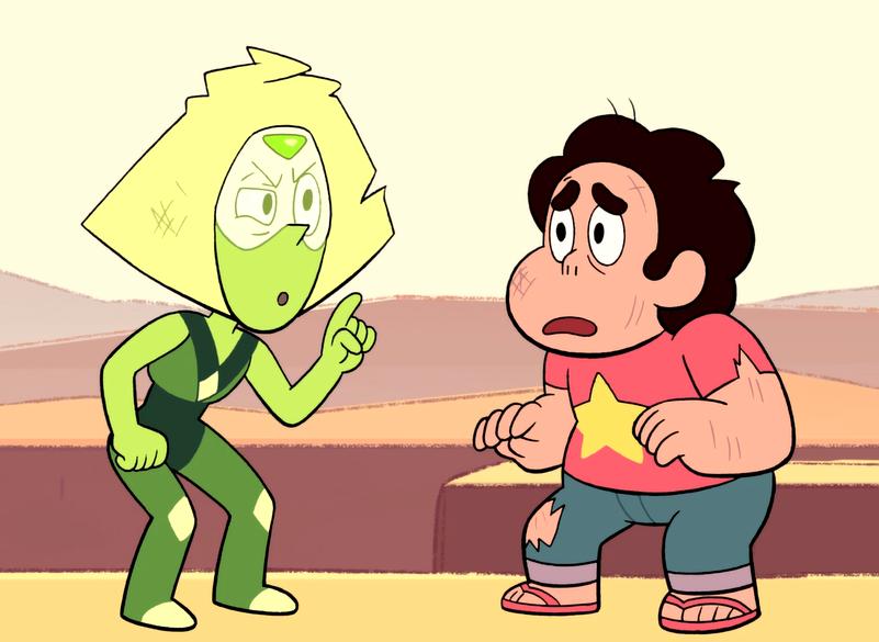 The Kindergarten Kid Steven Universe Peridot