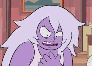 steven vs amethyst angry at herself