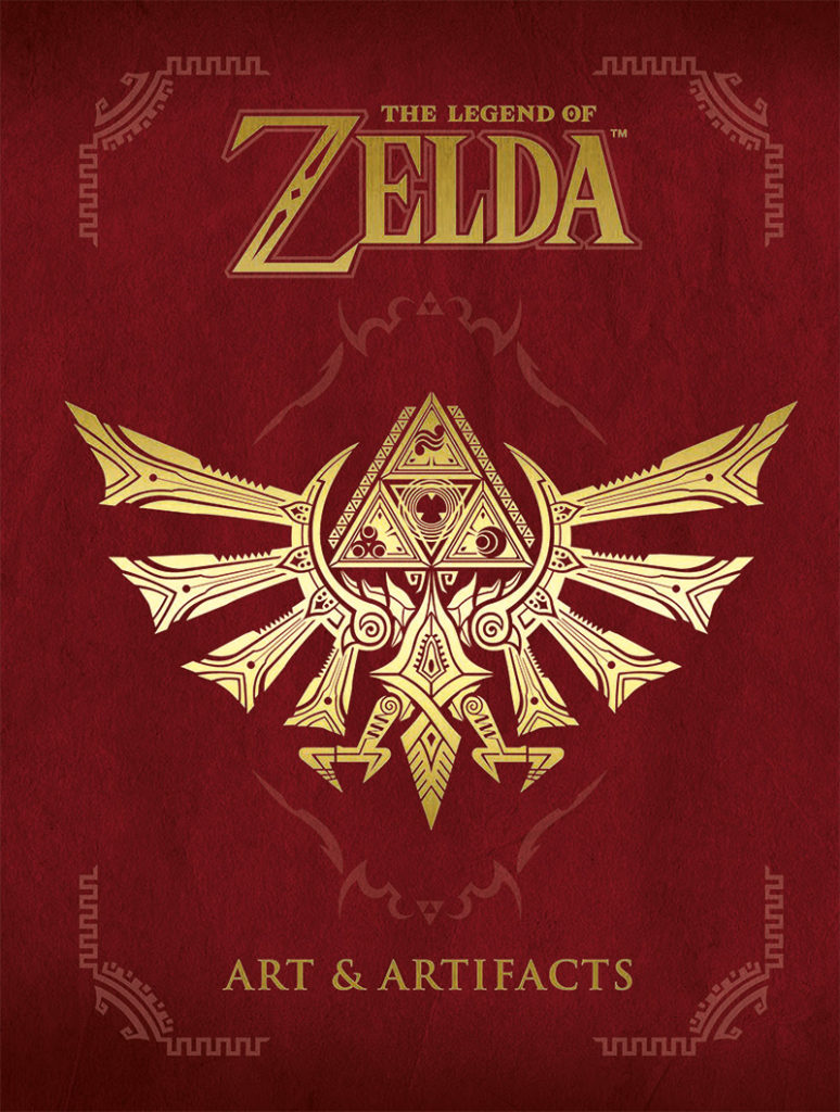 Art and Artifacts Zelda cover