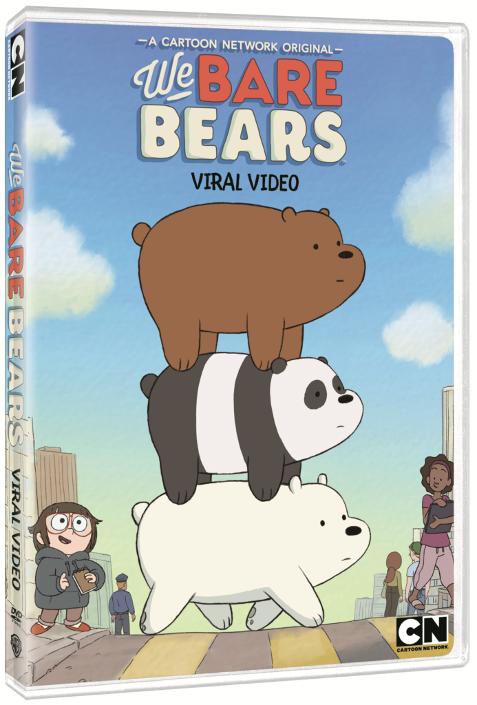 we bare bears: viral video artwork