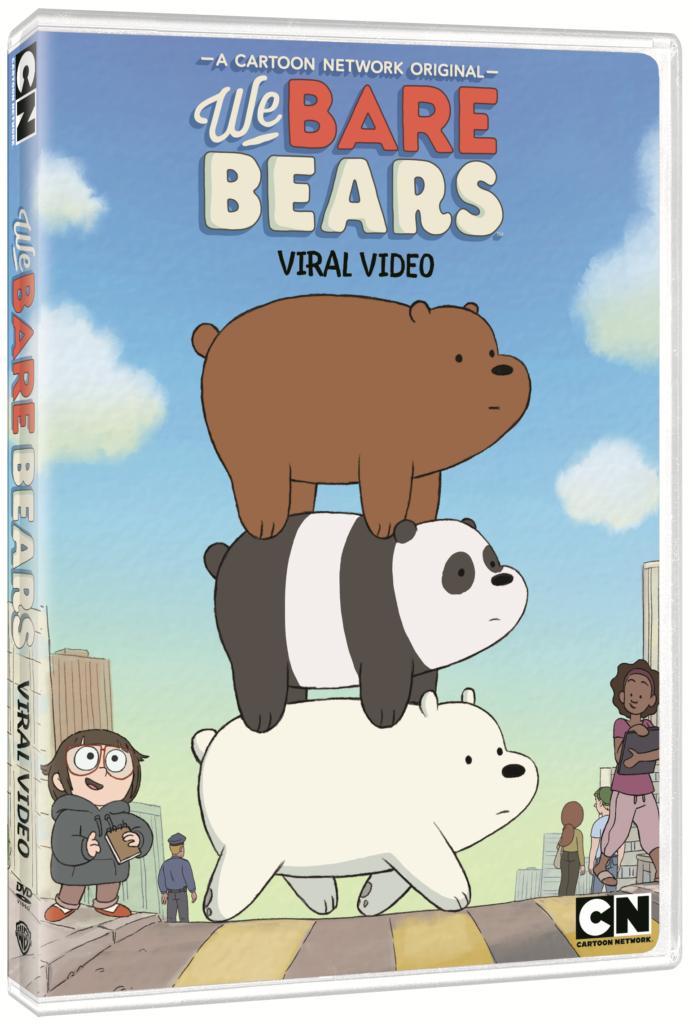 we bare bears: viral video artwork