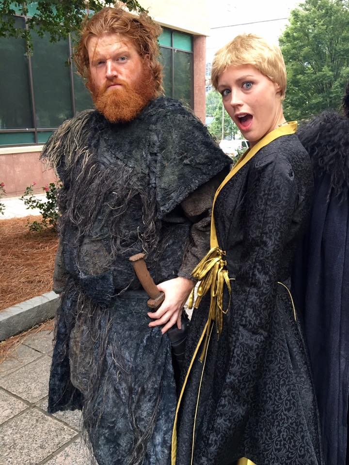 Dragon Con 2016 Cosplay Cersei Lannister Tormund Giantsbane