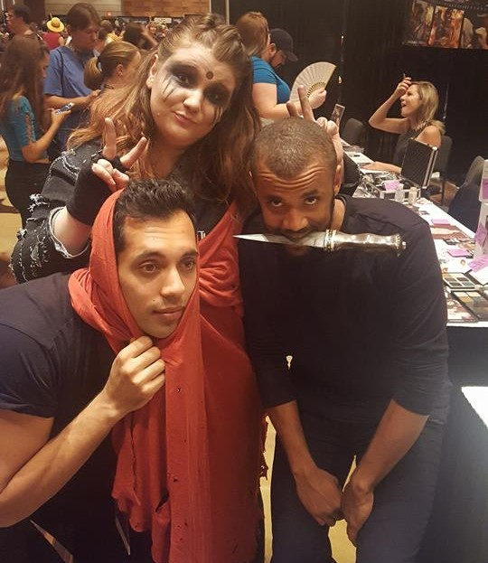 The 100 fandom Dragon Con 2016