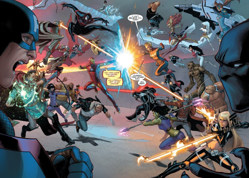 Civil War II Issue Five
