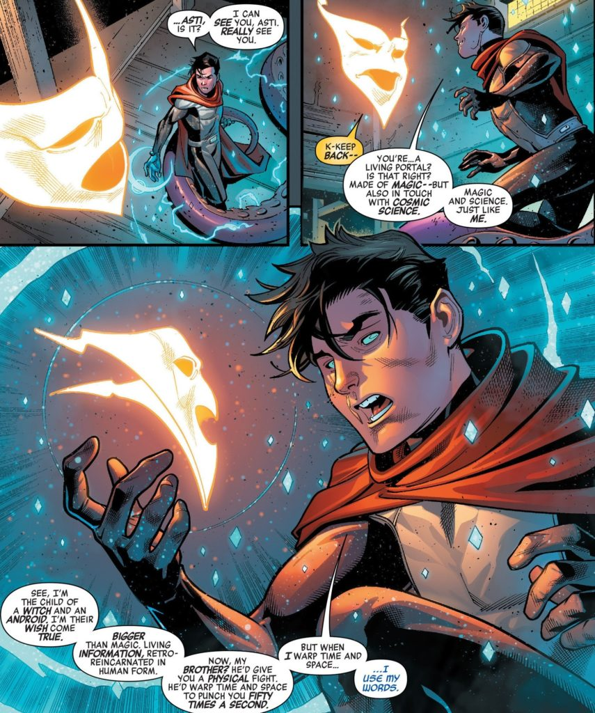 New Avengers Issue 16 Wiccan Billy Asti